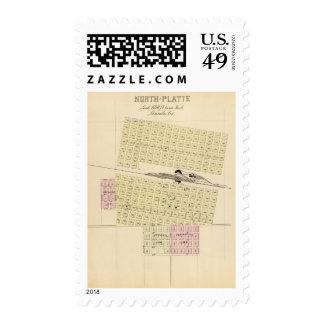 North Platte, Nebraska Postage Stamp