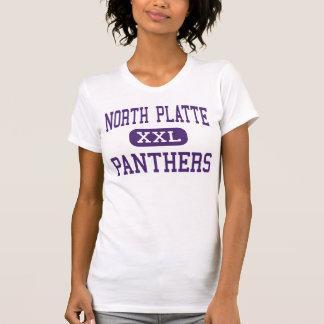 North Platte - panteras - alto - Dearborn Missouri Camisetas