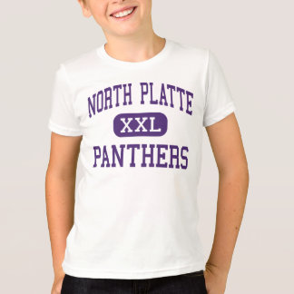 North Platte - panteras - alto - Dearborn Missouri Playera