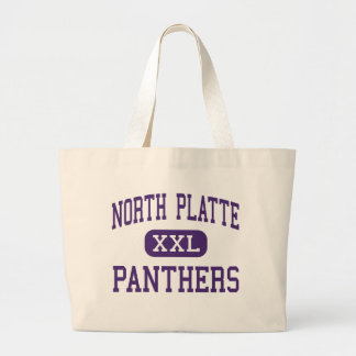 North Platte - Panthers - High - Dearborn Missouri Jumbo Tote Bag