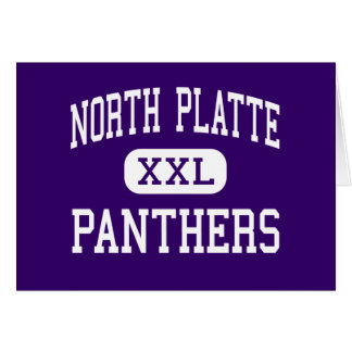 North Platte - Panthers - High - Dearborn Missouri Greeting Card