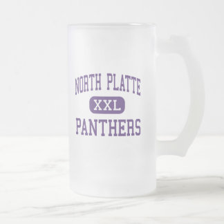 North Platte - Panthers - High - Dearborn Missouri 16 Oz Frosted Glass Beer Mug