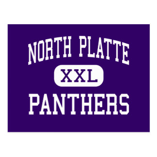 North Platte - Panthers - High - Dearborn Missouri Postcard