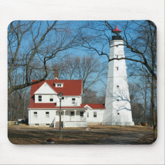 North Point Lighthouse, Milw WI Mousepad