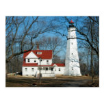 North Point Lighthouse, Milw WI Postcard
