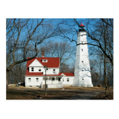 North Point Lighthouse, Milw Wi Postcard at Zazzle