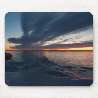 North Point Sunrise Milwaukee, Wisconsin Mouse Pad