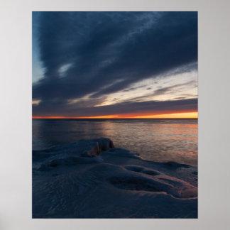 North Point Sunrise Milwaukee, Wisconsin Poster