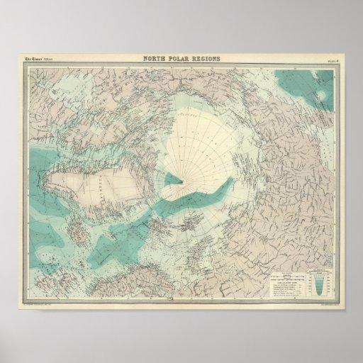 North Polar regions Poster
