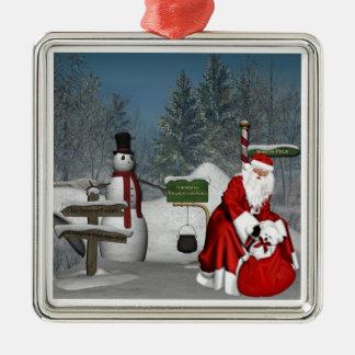 North Pole2 Ornament