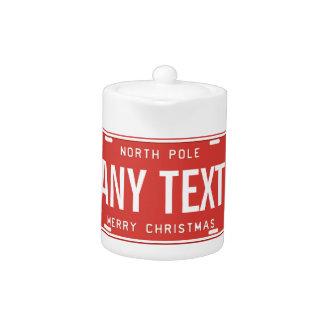 North Pole 2016 Teapot