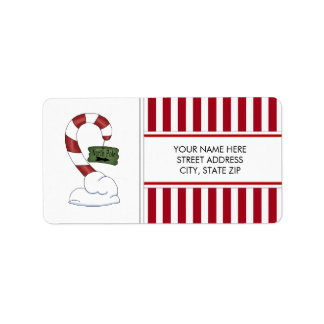 North Pole Address Mailing Labels