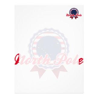 North pole ak personalized letterhead