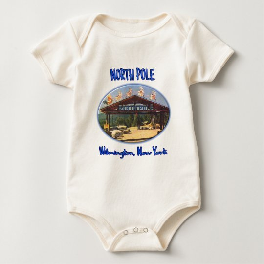 North Pole Baby Bodysuit