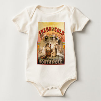 North Pole Beer Baby Bodysuit