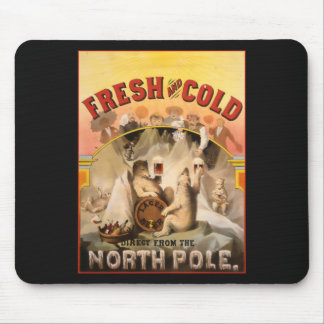 North Pole Beer Mouse Pad