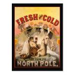 North Pole Beer Postcard