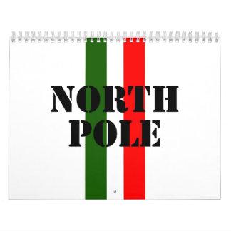 North Pole Calendar