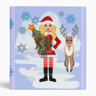 North Pole, Christmas album 3 Ring Binders