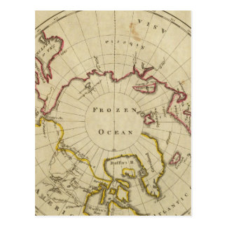 North Pole countries Postcard