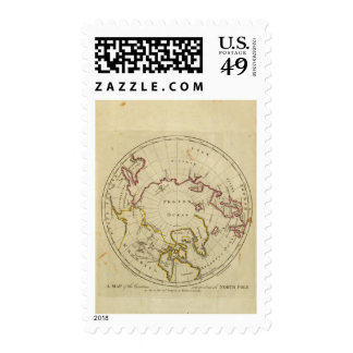 North Pole countries Stamp