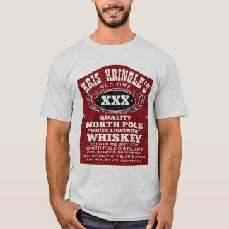North Pole Distillery Funny Christmas T Shirt