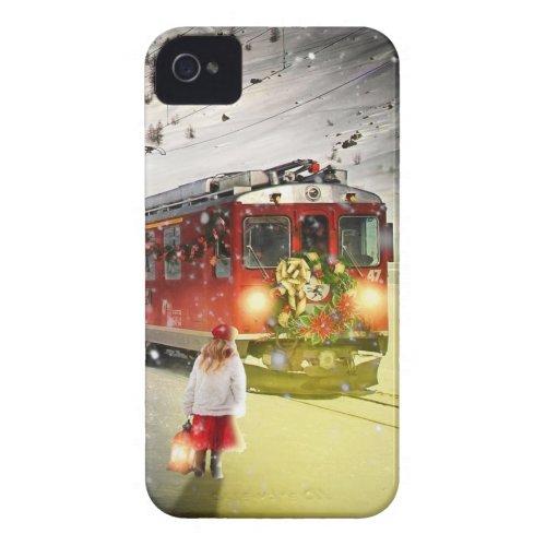North pole express _ christmas train _ santa train Case_Mate iPhone 4 case