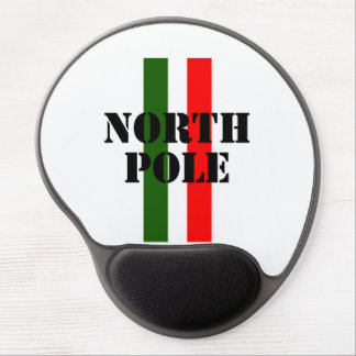 North Pole Gel Mouse Pad