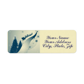 North Pole Highway Label