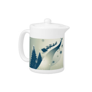 North Pole Highway Teapot