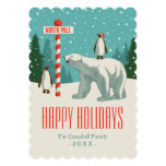 North Pole Holiday Party Card