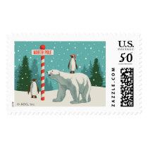 North Pole Holiday Postage