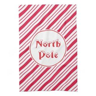 North Pole Kitchen Towel