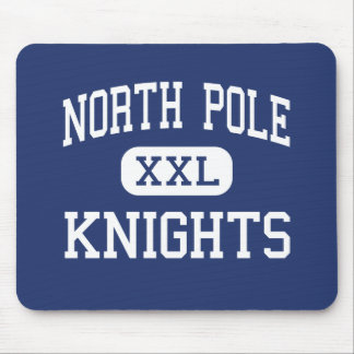 North Pole Knights Middle North Pole Alaska Mousepad