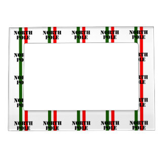 North Pole Magnetic Photo Frame