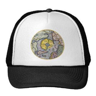North Pole Map 1595 Trucker Hat