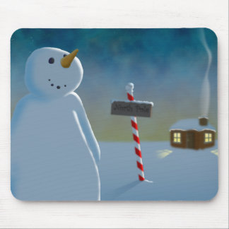 North Pole Mouse Pad