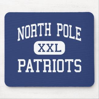 North Pole - Patriots - High - North Pole Alaska Mouse Pads