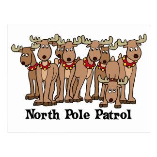 North Pole Patrol Post Cards