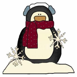 North Pole Penguin Ornament Cut Outs
