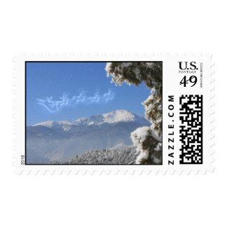 North Pole, Pikes Peak, Colorado, Greetings Postage