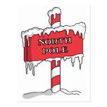 North Pole Post Card