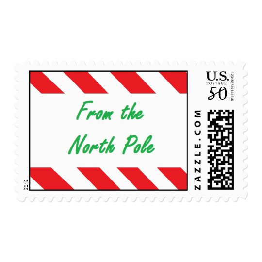 """North Pole"" Postage"