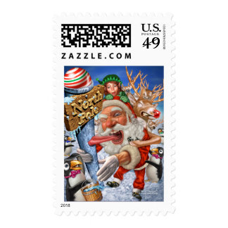 north_pole postage stamps