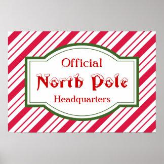 North Pole Poster