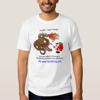 North Pole Prince fighting AIDS T Shirt