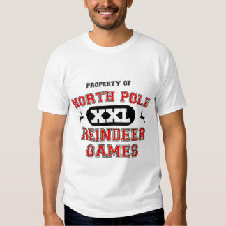 North Pole Reindeer Games T-shirt