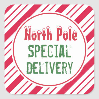 North Pole Special Delivery Christmas Gift Tags