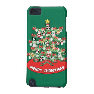 North Pole Themed Mini Ornaments on Christmas Tree iPod Touch 5G Case