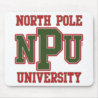 North Pole University Mouse Pad